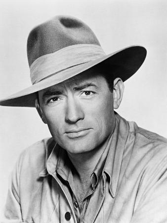 Gregory Peck, the Snows of Kilimanjaro, 1952