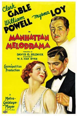 Manhattan Melodrama, 1934