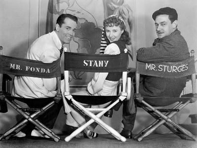 Henry Fonda, Barbara Stanwyck, Preston Sturges, the Lady Eve, 1941