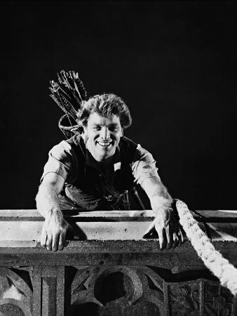 Burt Lancaster, the Flame and the Arrow, 1950