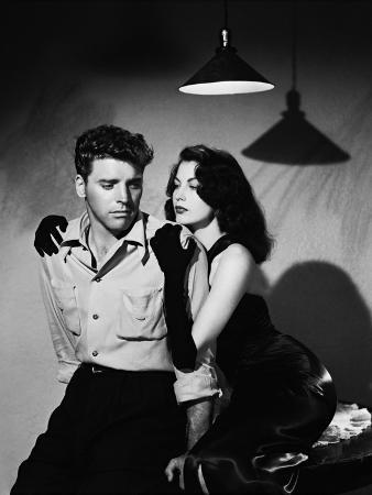 Burt Lancaster, Ava Gardner, the Killers, 1946