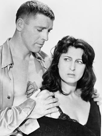 Burt Lancaster, Anna Magnani, the Rose Tattoo, 1955