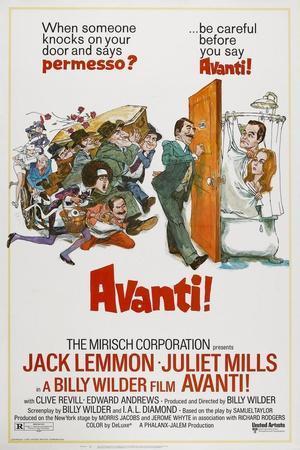 Avanti!, 1972