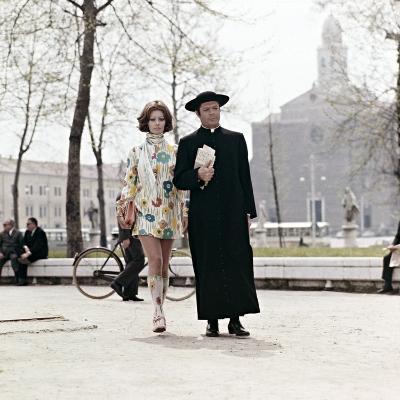Sophia Loren, Marcello Mastroianni. the Priests Wife,1971 (La Moglie Del Prete)