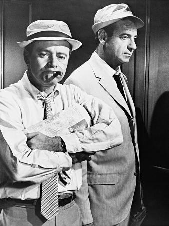 Jack Lemmon, Walter Matthau, the Odd Couple, 1968