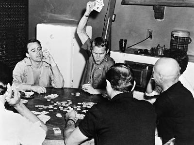 Yul Brynner, Robert Vaughn, Steve Mcqueen, The Magnificent Seven,1960