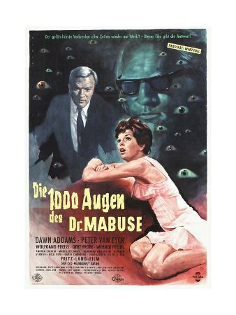 The Thousand Eyes of Dr. Mabuse, 1960 (Die 1000 Augen Des Dr. Mabuse)