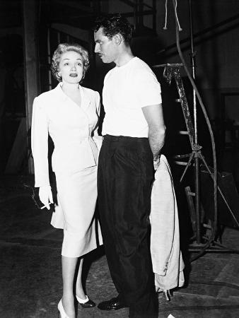 Charlton Heston, Marlene Dietrich, Touch of Evil, 1958
