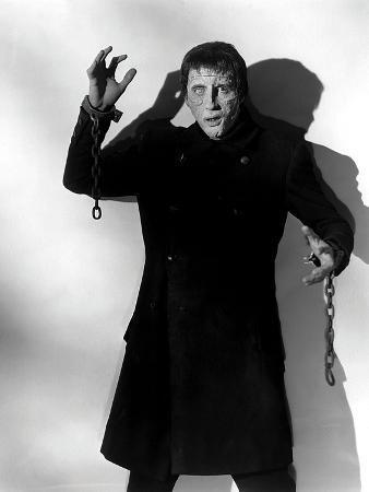 Christopher Lee, the Curse of Frankenstein, 1957