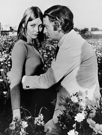 Michael Caine, Janet Agren, Pulp, 1972