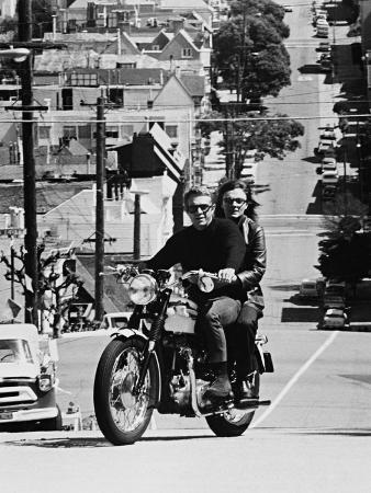 Jacqueline Bisset, Steve Mcqueen, Bullitt, 1968