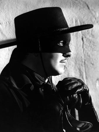 Tyrone Power, the Mark of Zorro, 1940