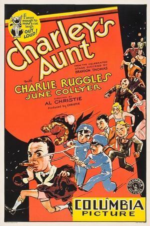Charleys Aunt, 1930