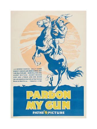 Pardon My Gun, 1930
