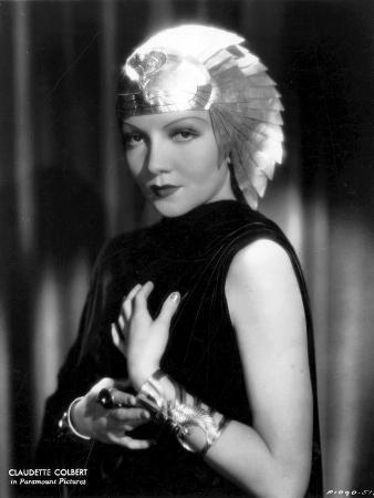 Claudette Colbert, Cleopatra, 1934