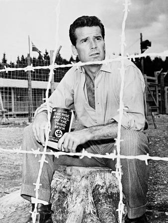 James Garner, the Great Escape, 1963