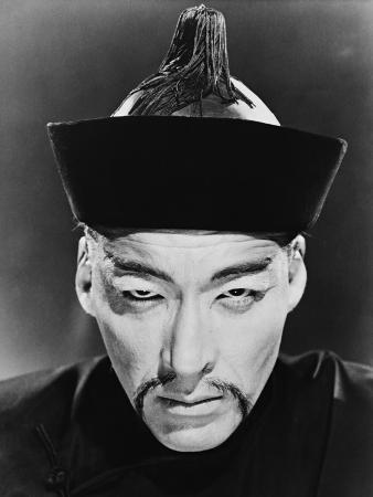 Christopher Lee, the Face of Fu Manchu, 1965