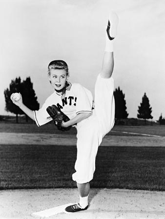 Vera-Ellen, Big Leaguer, 1953