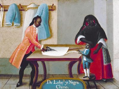 De Lobo y Negra: Chino, 18th Century