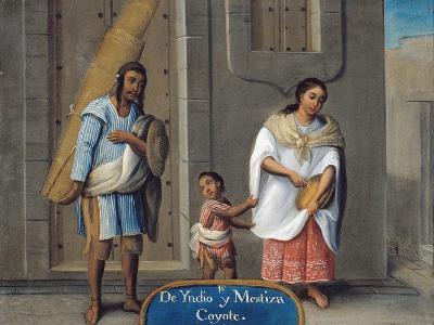 De Yndio y Mestiza, Coyote, 18th Century
