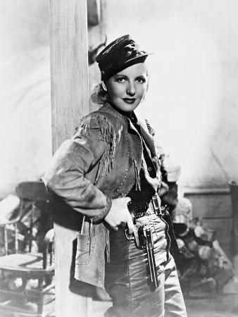 Jean Arthur, the Plainsman, 1936