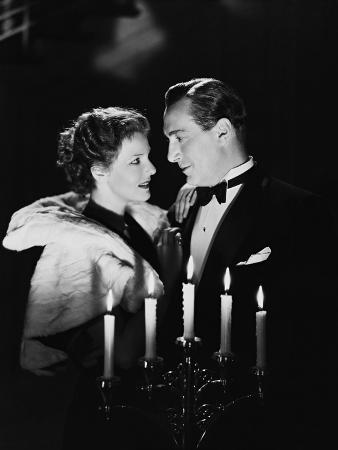 Paul Lukas, Elissa Landi, by Candlelight, 1933