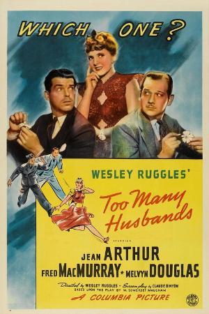 Too Many Husbands, 1940