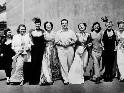 Joan Fontaine, George Cukor, Paulette Goddard, Rosalind Russell, Joan Crawford, The Women