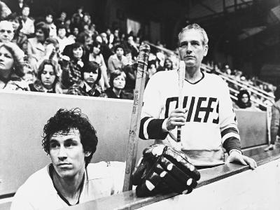 Paul Newman, Michael Ontkean, Slap Shot, 1977