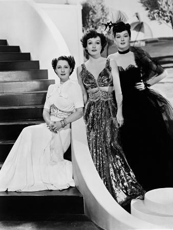 Norma Shearer, Rosalind Russell, Joan Crawford, The Women,1939