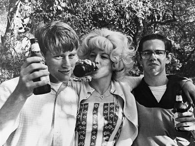 Charles Martin Smith, Ron Howard, Candy Clark, American Graffiti,1973