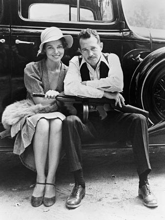 Warren Oates, Michelle Phillips, Dillinger, 1973