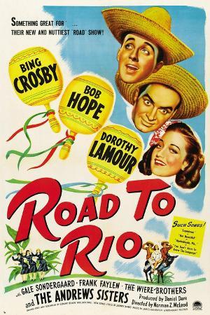 Road to Rio, 1947