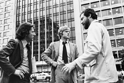 Dustin Hoffman, Robert Redford, Alan J. Pakula, All the Presidents Men, 1976