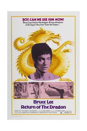 Return of the Dragon, 1972 (Meng Long Guojiang)