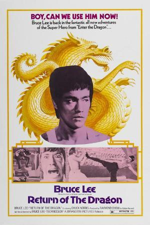 Return of the Dragon, 1972 (Meng Long Guojiang)