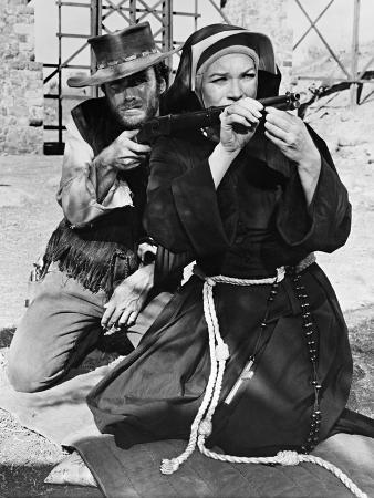 Clint Eastwood, Shirley Maclaine, Two Mules for Sister Sara, 1970