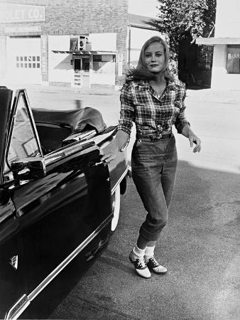 Cybill Shepherd, the Last Picture Show, 1971