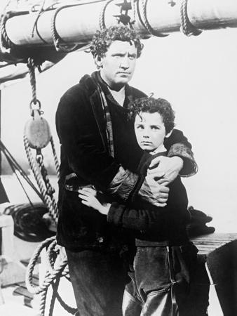 Spencer Tracy, Freddie Bartholomew, Captains Courageous, 1937