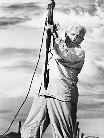 Spencer Tracy, the Old Man and the Sea, 1958