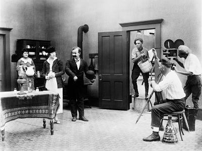 Chester Conklin, Mack Sennett Comedy, Mack Sennett Comedies Corporation Movie Shooting