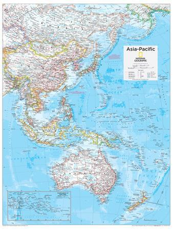 2014 Asia Pacific - National Geographic Atlas of the World, 10th Edition