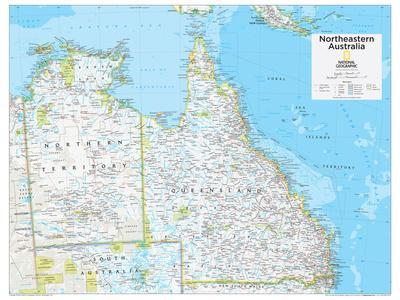 2014 Northeastern Australia - National Geographic Atlas of the World, 10th Edition