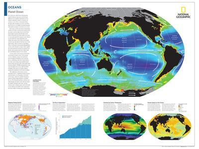 2014 Oceans - National Geographic Atlas of the World, 10th Edition