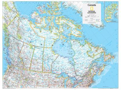 2014 Canada Political - National Geographic Atlas of the World, 10th Edition