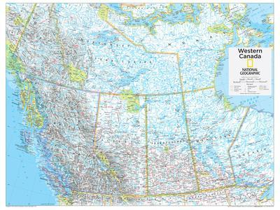 2014 Western Canada - National Geographic Atlas of the World, 10th Edition