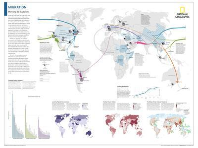 2014 Migration - National Geographic Atlas of the World, 10th Edition