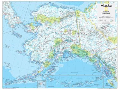 2014 Alaska - National Geographic Atlas of the World, 10th Edition