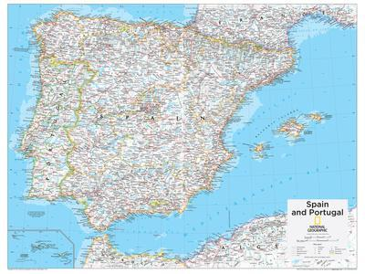 2014 Spain and Portugal - National Geographic Atlas of the World, 10th Edition