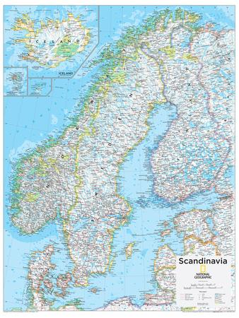 2014 Scandinavia - National Geographic Atlas of the World, 10th Edition
